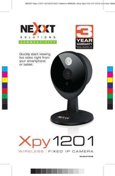 Nexxt Xpy 1201 Wifi Security Camera