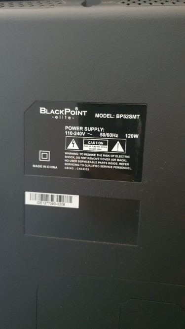 Blackpoint 50 Inch Smart TV For Sale