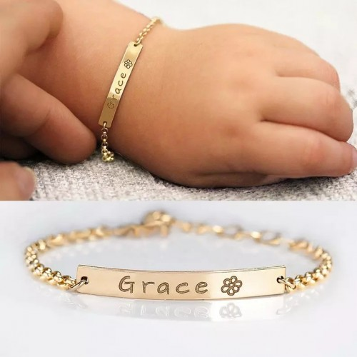 Customize Name Bracelet For Baby