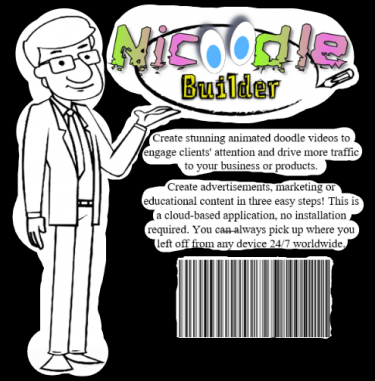 Nicoodle Builder| Doodle, Animated Videos Creator