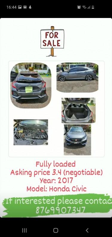 Honda Civic Ex-L Fully Loaded Cars Kingston