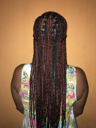 Knotless And Faux Locs