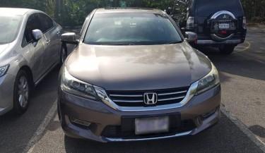 Honda Accord 2013 (RHD) Cars Old Hope Road