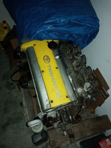 4age 20v Head With Intake And Injectors