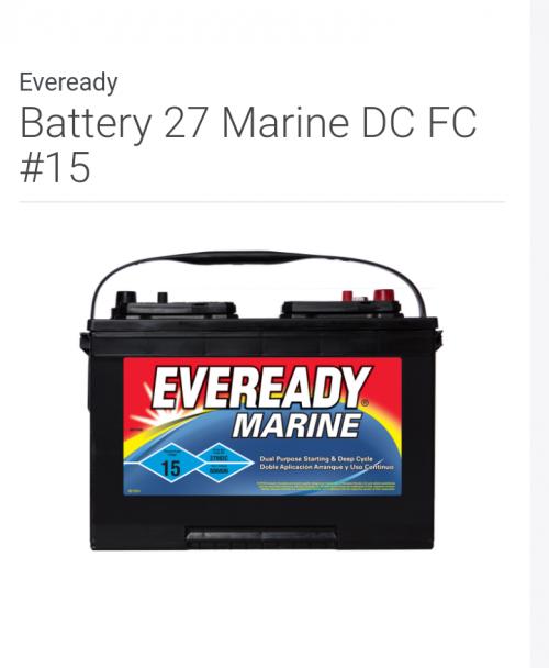 Deep Cycle And Marine Batteries