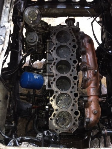 Toyota Coaster Engine Bottom Half