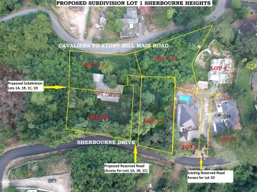 Lots For Sale - Sherbourne Heights Land Sherbourne Heights, Stony Hill