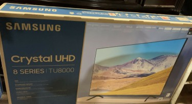 NEW- Samsung TU8000 - 8 SERIES- 55