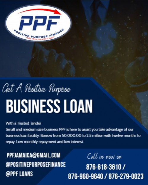Positive Business Loan