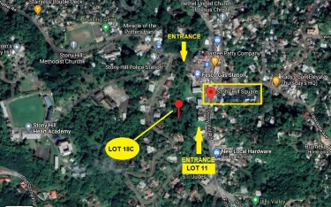 Prime Commercial Land - Stony Hill Square Land Stony Hill Square