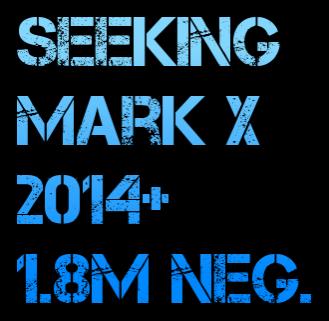 2014 Mark X Wanted 1.8m Cars Washington Boulevard