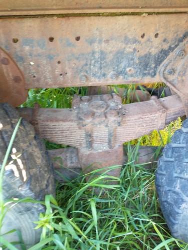 Super 40 Rear End. Heavy Duty Suspension Auto Parts Molynes