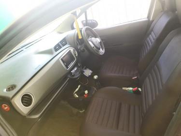 Grey 2012 Toyota Vitz RS