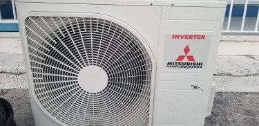 Slightly Used Mitsubishi 24000BTU Inverter A/C