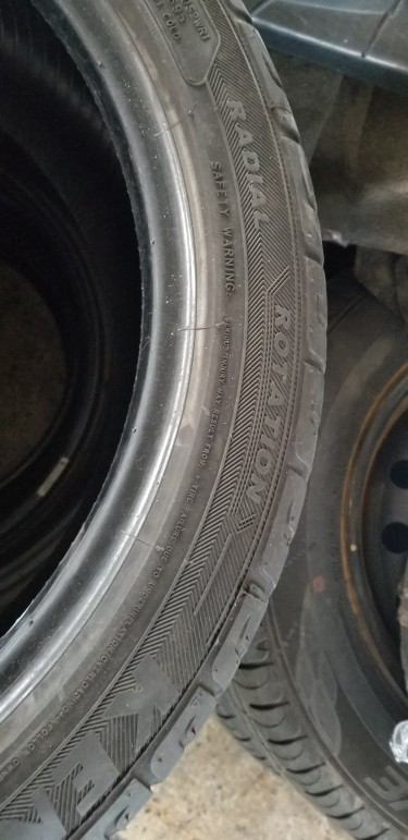 4 Used 215/45R17 Tyres