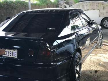 Black 2005 Lexus IS300 2JZ Engine Leathery
