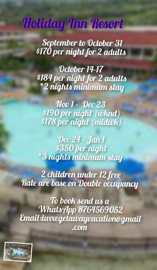 Holiday Inn Resort Local Special