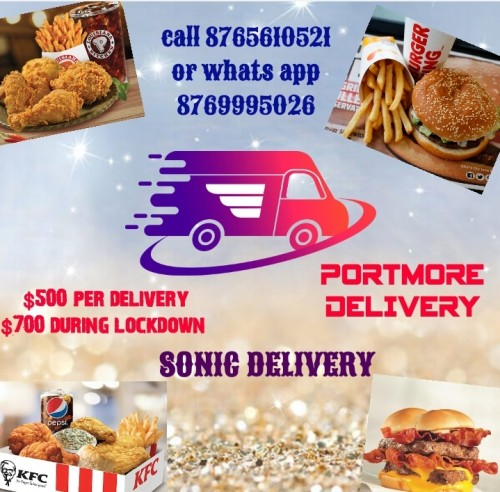 PORTMORE DELIVERY / SONIC DELIVERY