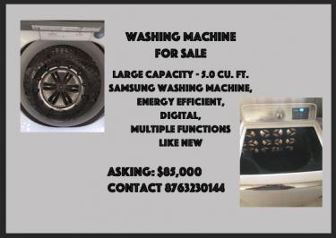 Large Samsung Washing Machine