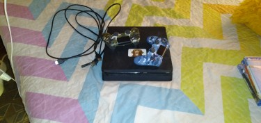 Sony Playstation 4 Slim Pro With Games An Two Cont