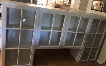 Kitchen Upper Cabinet/ Solid Wood