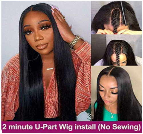 18 Inch Upart Wig, 100% Human Hair. Free Delivery.