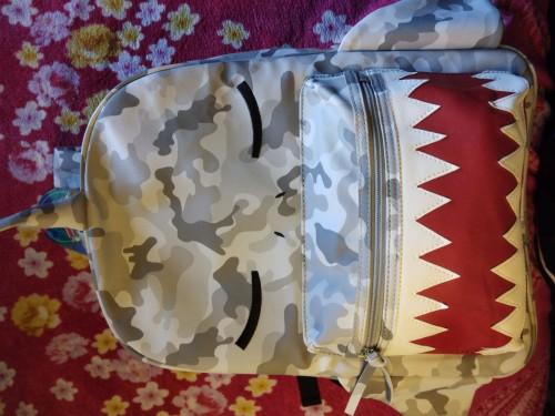 Army Shark Bag