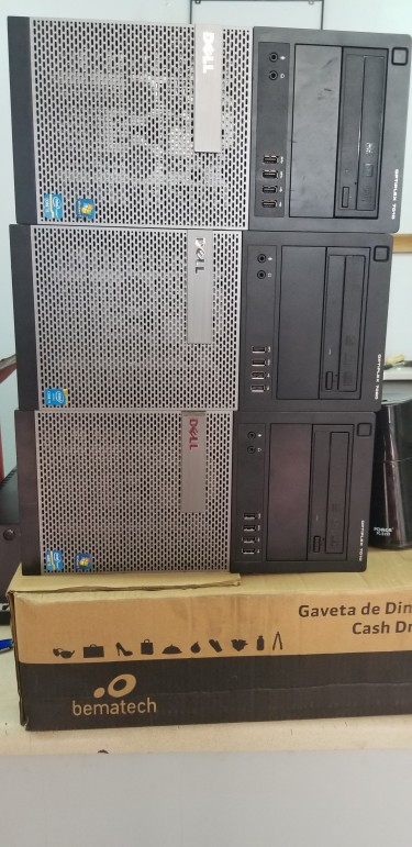 2 Station Used Dell Computers With P.O.S Loaded