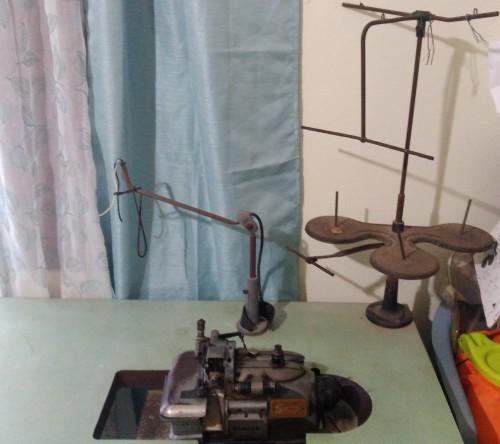 Antique Singer Serger Sewing Machine