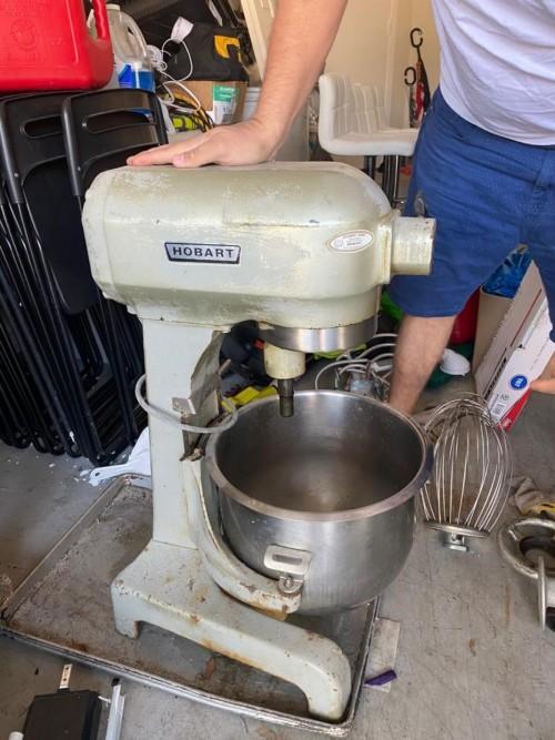 20quart Hobart Cake Mixing Bowl