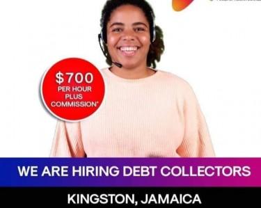 HIRING DEBT COLLECTORS AGENTS NOT AN AGENCY