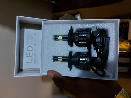 H4, H7, HB2, 9003 LED Healight Bulb (6 Sided)