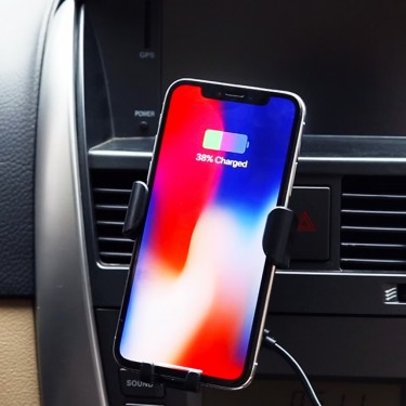 Mobile Phone Wireless Car Charger/ Holder.