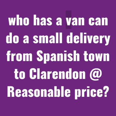 Need A Small Van To Hire