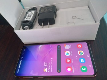 Samsung S10 128gb Custom Color New Condition