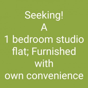 1 Bedroom, Kitchen And Bathroom. Own Convenience