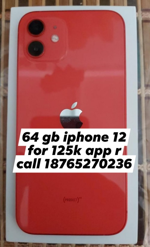 64gb Iphone 12 For 125k