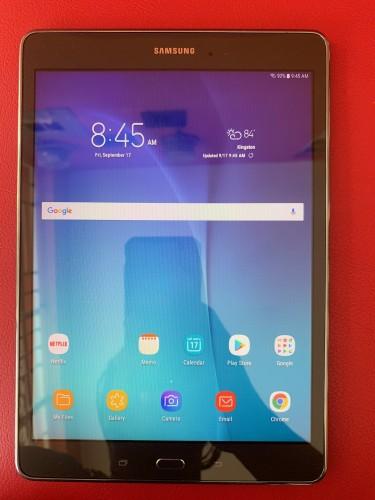 "Mint Samsung Galaxy Tab A 9.7"" 16GB Storage And 1."