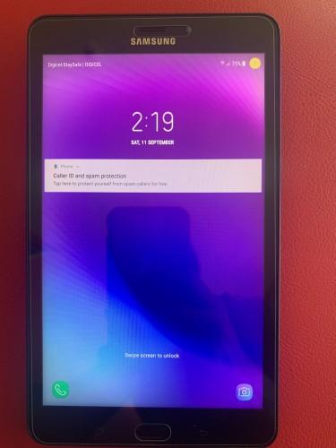 """4G LTE + Cellular Fully Unlocked 8"""" Samsung Galaxy"""