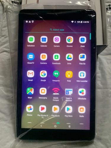 "2018 Alcatel 8"" Joy Tablet With 16GB Storage And 2"