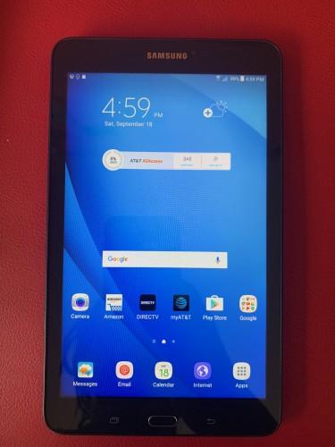 """8"""" Samsung Galaxy Tab E With 16GB Storage, Wi-Fi O"""