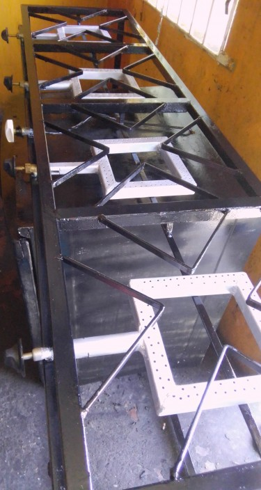 4 Burner Industrial Stove With Oven/New