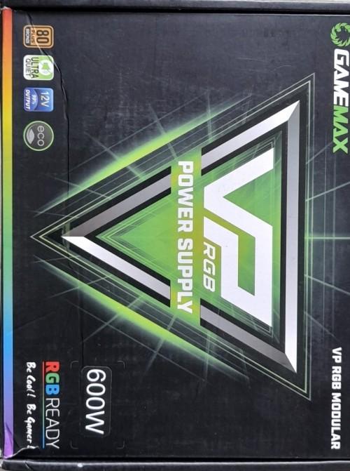 600W Power 80+ Bronze, GAMEMAX VP-600-RGB