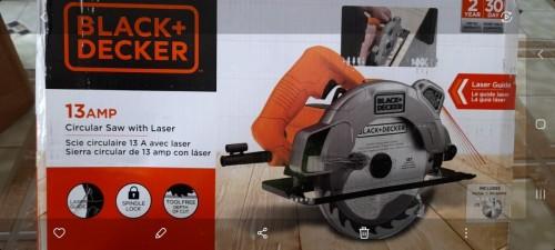 BLACK+DECKER 7-1/4-Inch Circular Saw With Laser