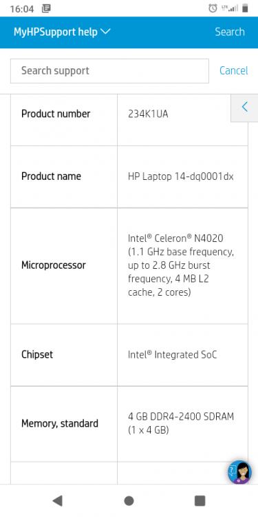 Brand New Hp Celeron Laptop