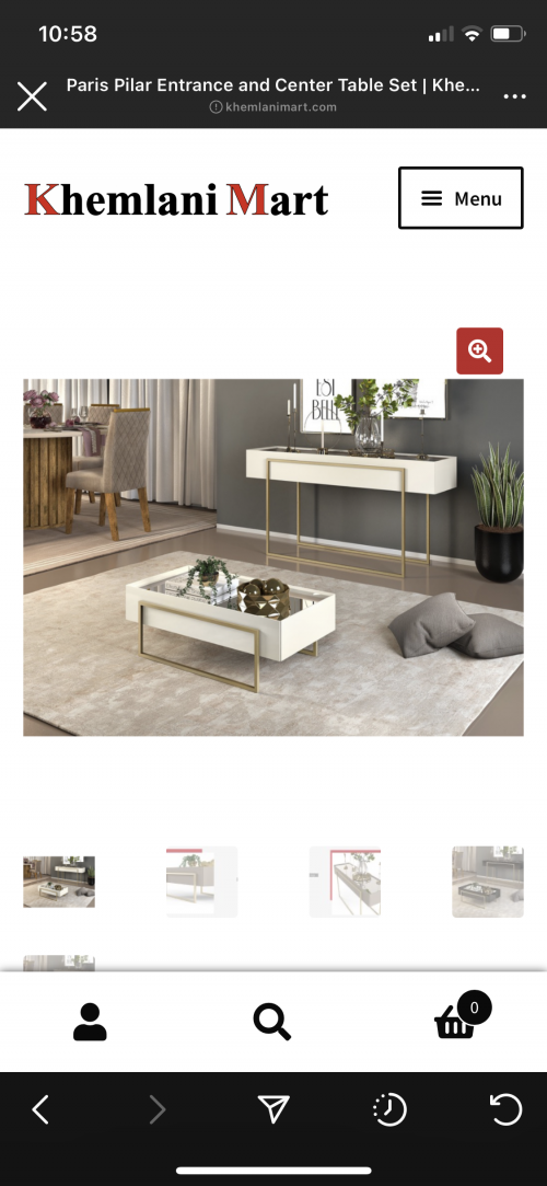 Coffee Table And Entrance Table