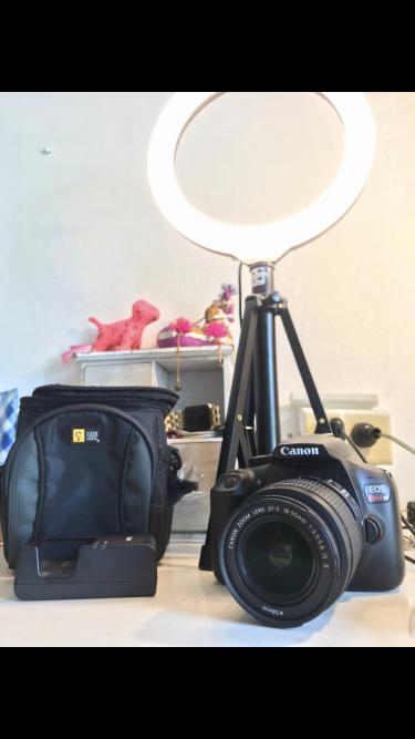 Canon Eos Rebel T7 Dlsr Camera