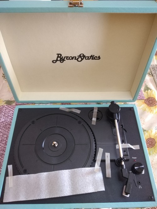 Byron Statics Turntable