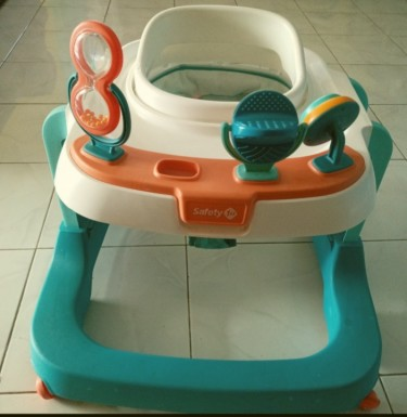 Lightly Used Safety 1st Baby Walker