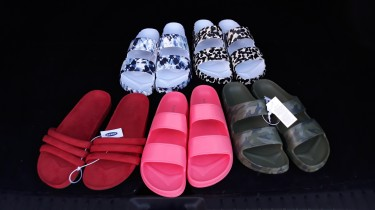 Old Navy Slides (sale!!!)